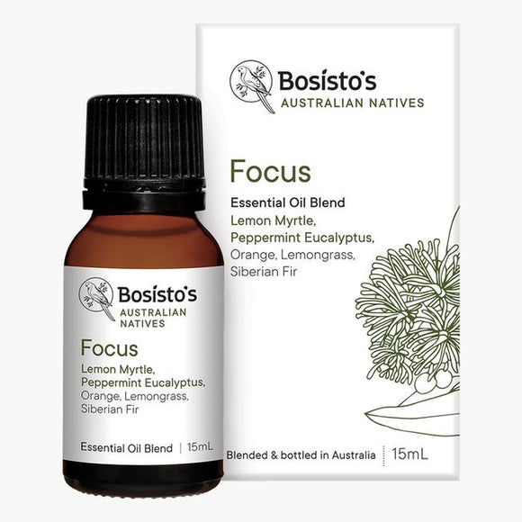 Bosistos Australian Natives Essential Oil 15mL [FOCUS]