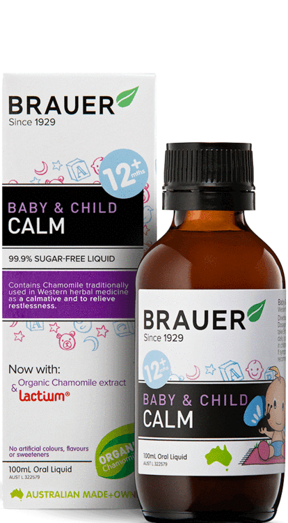 Brauer Baby & Child Calm Oral Liquid 100mL