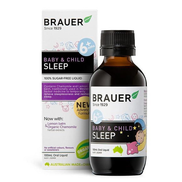 Brauer Baby & Child Sleep Oral Liquid 100mL