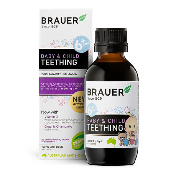 Brauer Baby & Child Teething Oral Liquid 100mL