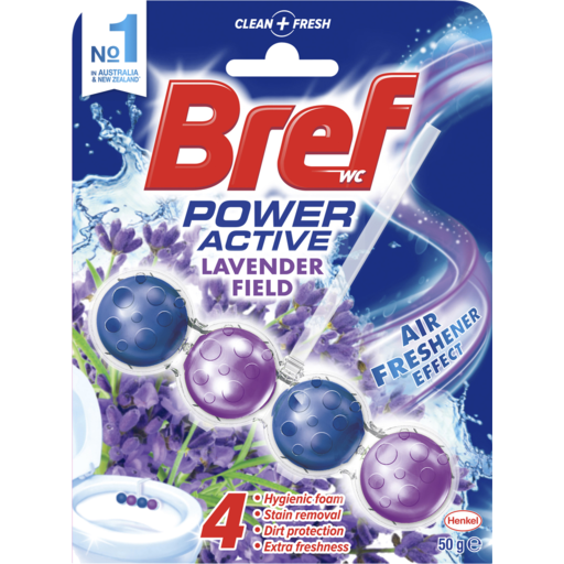 Bref Power Active Lavander Toilet Cleaner 50g
