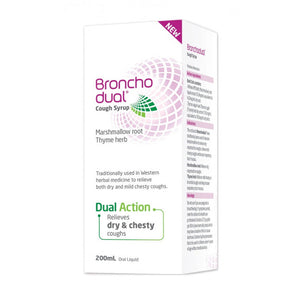 Broncho Dual Cough Syrup 200mL