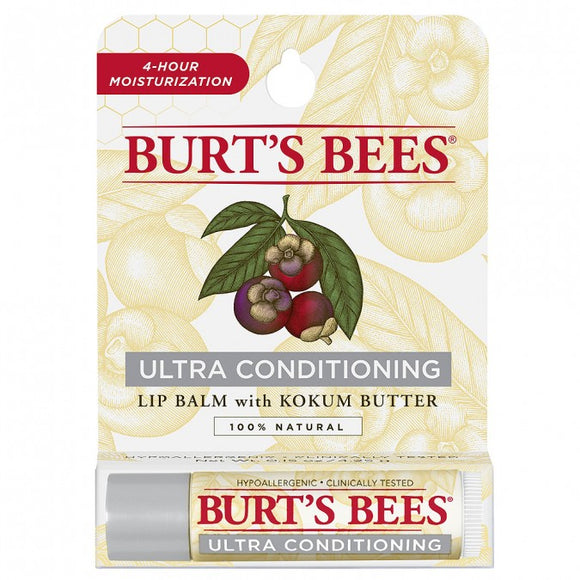 Burt's Bees Ultra Conditioning Kokum Butter Lip Balm 4.25g