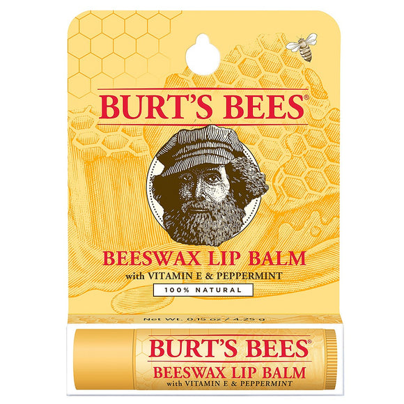 Burt's Bees Beeswax with Peppermint Lip Balm 4.25g