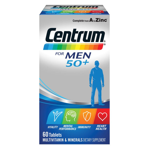 Centrum for Men 50+ (60 tablets)
