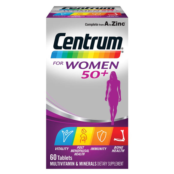 Centrum for Women 50+ (60 tablets)
