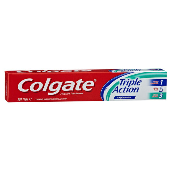 Colgate Triple Action Toothpaste 110g