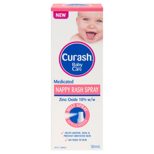 Curash Medicated Nappy Rash Spray 50mL