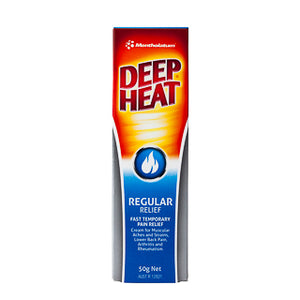 Deep Heat Regular Relief 50g