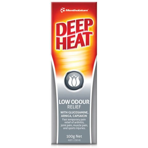 Deep Heat Low Odour 100g