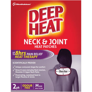 Deep Heat Neck & Joint Heat Patches 2pk