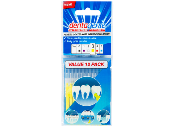 Dentagenie Interdental Brushes 12 pack (Size 3)