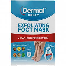 Dermal Therapy Exfoliating Foot Mask 1 Pack