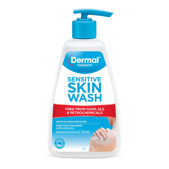Dermal Therapy Sensitive Skin Wash 1L