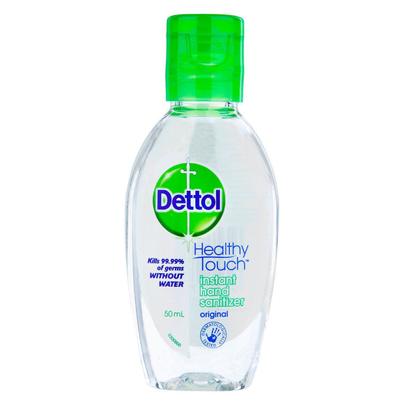 Dettol Instant Hand Sanitizer Clear/Original 50ml