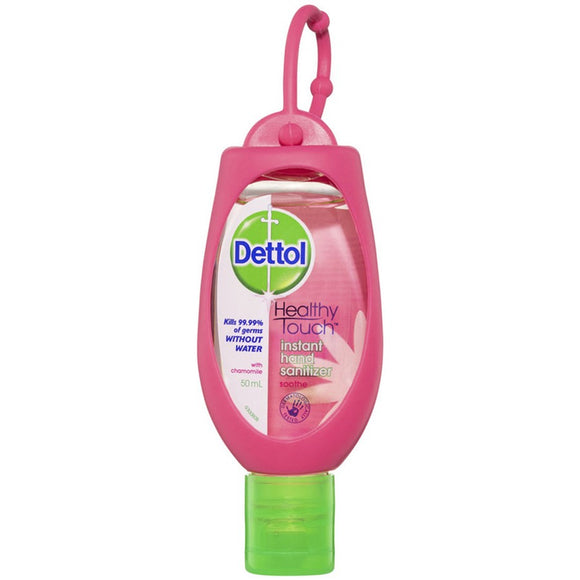 Dettol Instant Hand sanitiser with Clip (Chamomile) 50mL
