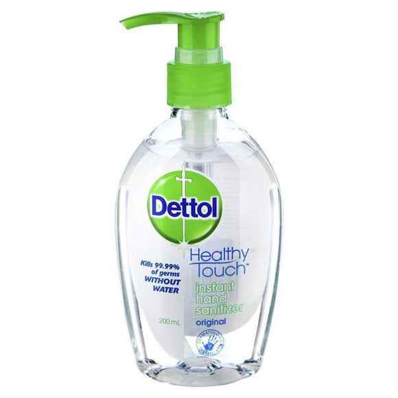 Dettol Instant Hand Sanitizer Refresh Original Pump 200mL