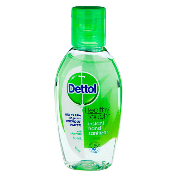 Dettol Instant Hand Sanitizer Refresh Aloe Vera 50ml
