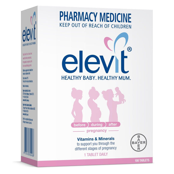 Elevit Pregnancy Multivitamin 100 Tablets