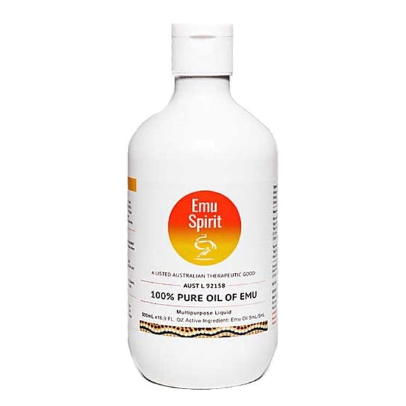 Emu Spirit 100% Pure Oil of Emu 125mL