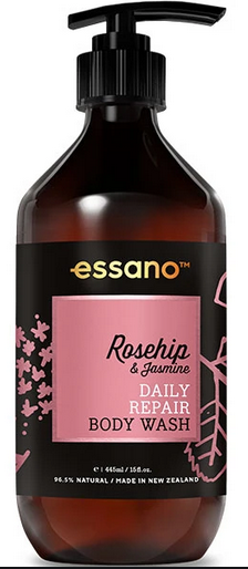 Essano Rosehip and Jasmine Daily Repair Body Wash 445mL