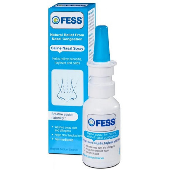 Fess Saline Nasal Spray 30mL