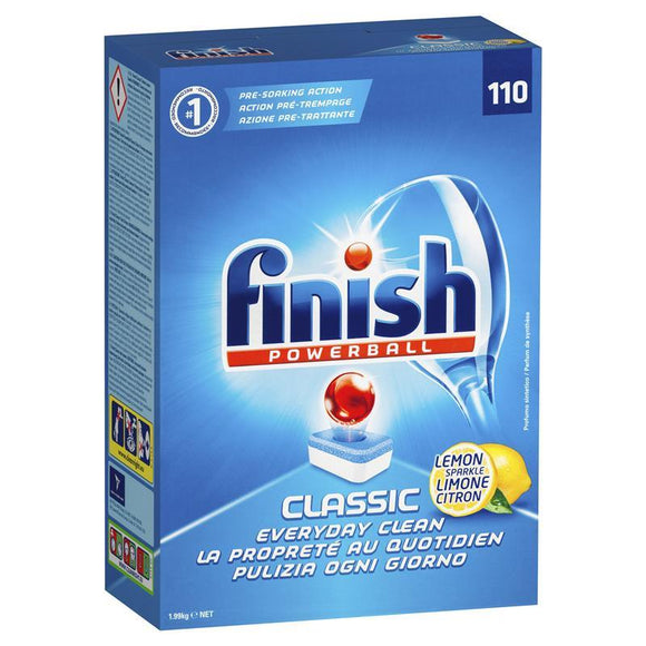 Finish Dishwasher Tablets Classic 110
