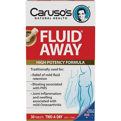 Carusos Fluid Away 60 Tablets