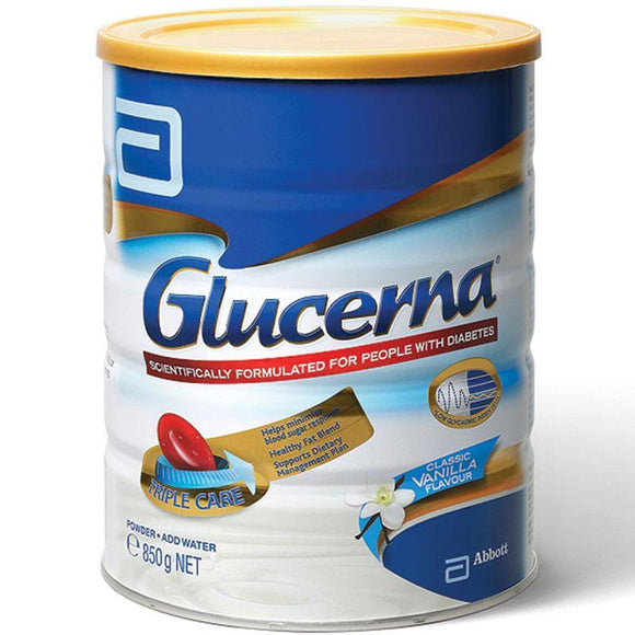 Glucerna Triple Care Powder Vanilla 850g