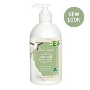 Billie Goat Nourishing hand and body wash 500mL