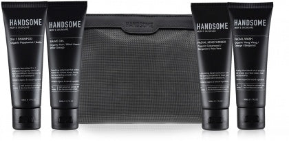 Handsome Mens Skincare Voyage