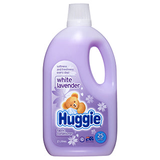 Huggie Fabric Softener White Lavender 2L