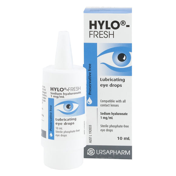 Hylo-Fresh lubricating eye drops 10mL