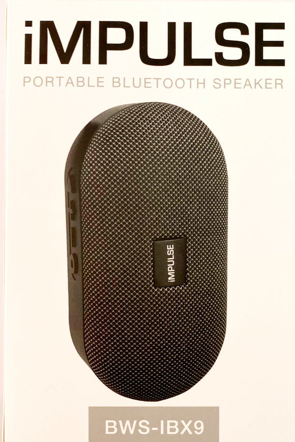 iMPULSE PORTABLE BLUETOOTH SPEAKER