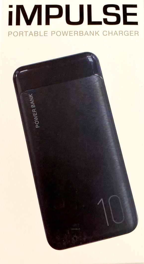 iMPULSE PORTABLE POWERBANK (black)