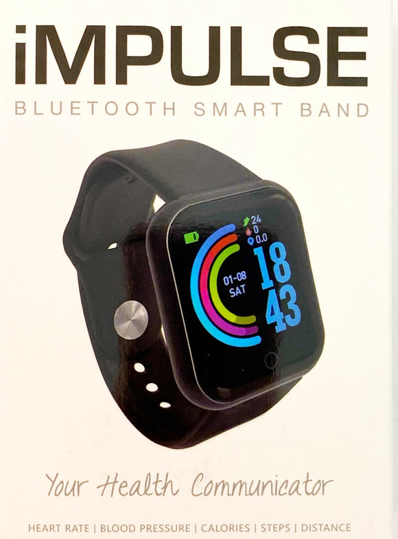 IMPULSE BLUETOOTH SMART BAND (Black)