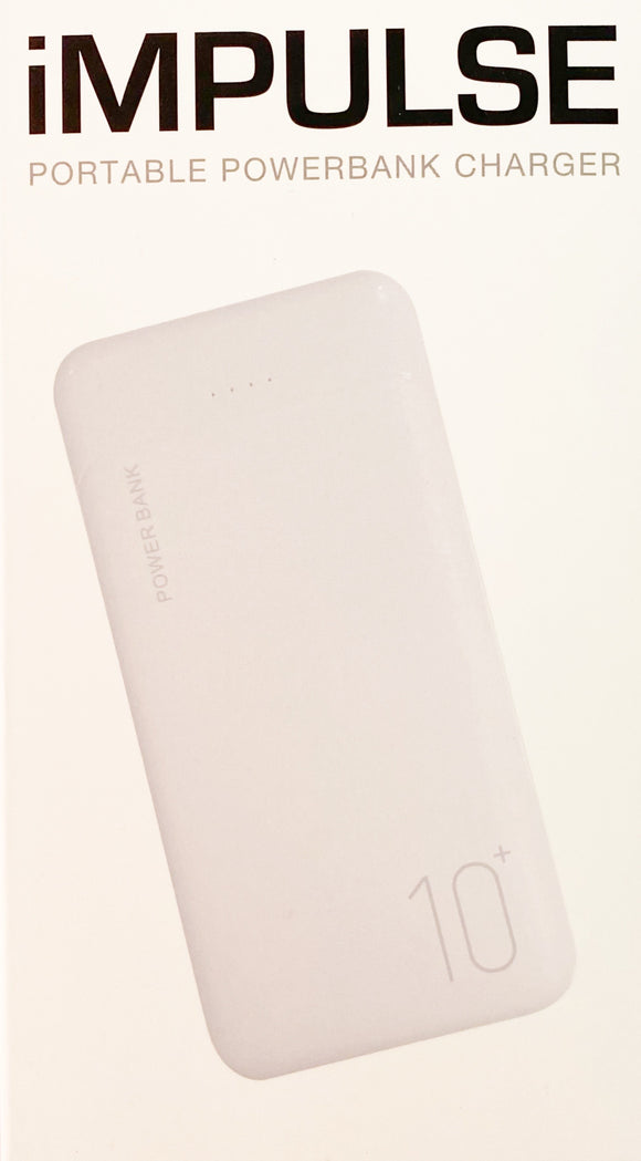 iMPULSE PORTABLE POWERBANK (White)