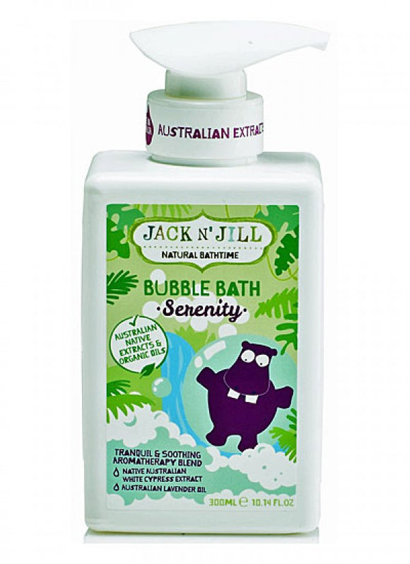 Jack n'Jill Bubble Bath [Serenity] 300mL