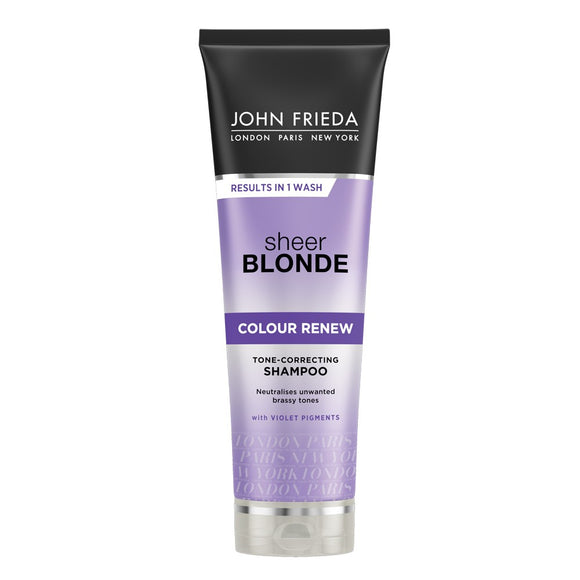 John Freida Sheer Blonde Shampoo 250mL
