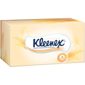 Kleenex Tissues Extra Care Aloe Vera 95 sheets