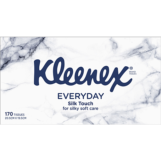 Kleenex Everyday Slik Touch Tissues 170 sheets