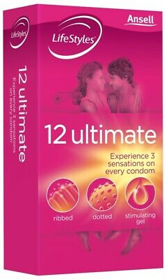 LifeStyles ultimate latex condoms 12
