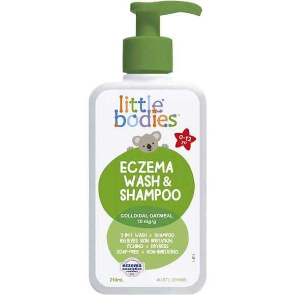 Dermal Therapy Little Bodies Eczema Wash & Shampoo 210mL