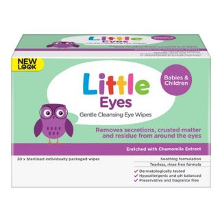 Little Eyes Gentle Cleansing Eye Wipes 30
