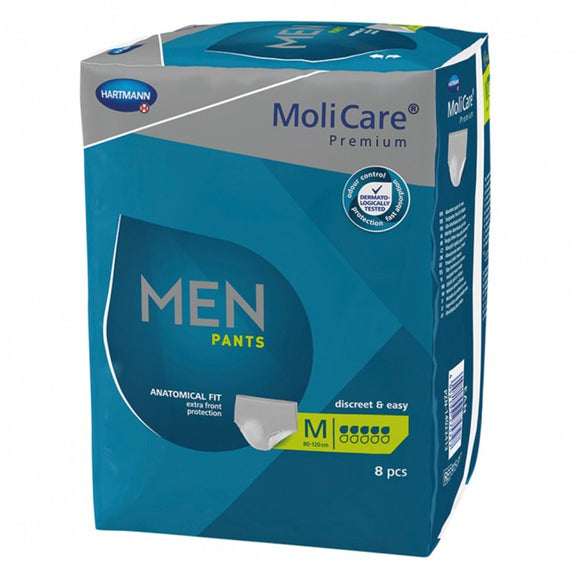 MOLICARE Premium Men Pants 5D Medium 8 Pack