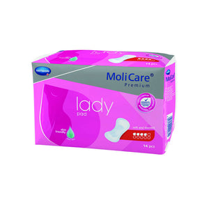 Molicare Premium Lady Pads 14 Pack (level 4)
