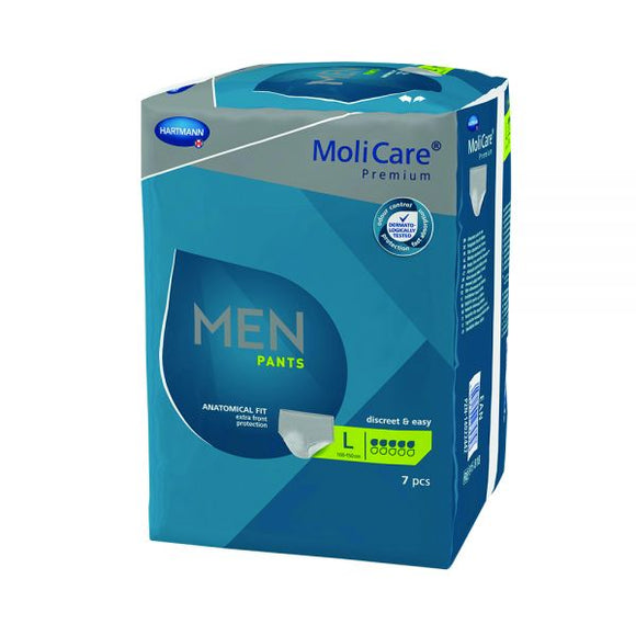MOLICARE Premium Men Pants 5D Large 7 Pack