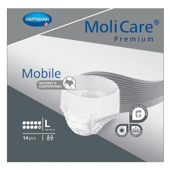 MoliCare Premium Mobile (Large) Level 10D 14 Pieces