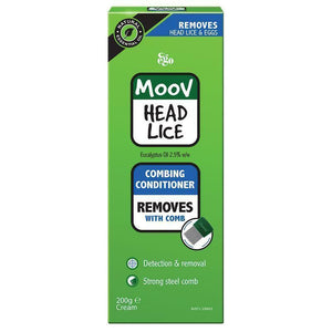 Ego Moov Head lice combing conditioner 200mL cream