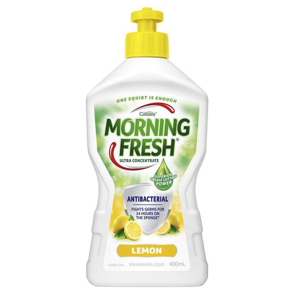 Morning Fresh Dish Washing Liquid (Antibacterial Lemon) 400mL